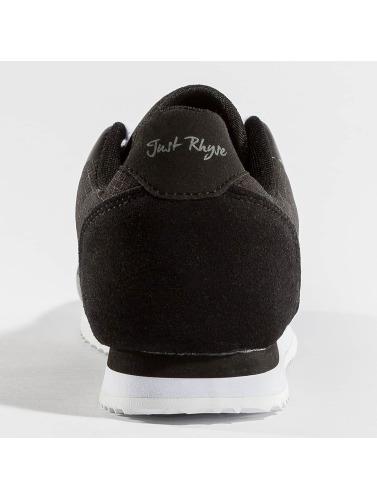 Just Rhyse Hombres Zapatillas de deporte Simson in negro