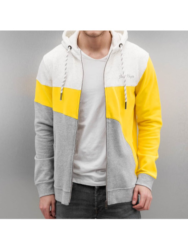 Just Rhyse Herren Zip Hoodie Rusher in gelb