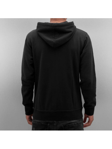 Just Rhyse Herren Zip Hoodie Ace in schwarz