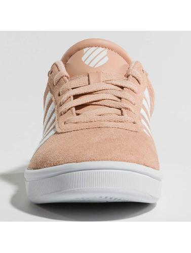 K-swiss Sneakers Kvinner Cheswick Sde Domstol I Rosa Valget billig online gratis frakt CEST gratis frakt billig billig rekkefølge nOBjEl4