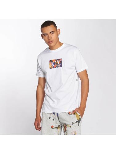 K1X Hombres Camiseta Superhero in blanco