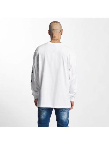 K1X Hombres Camiseta de manga larga Ivery Sports in blanco