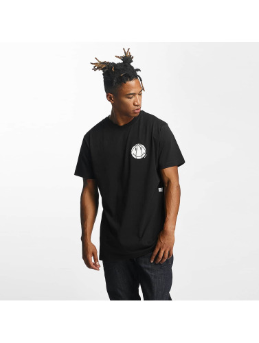 K1X Hombres Camiseta Smile in negro