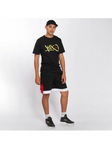 K1X Hombres Camiseta Bootleg Tag in negro