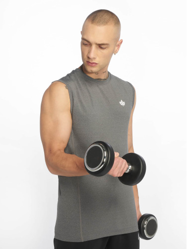K1X Core Hombres Camiseta Compression in gris