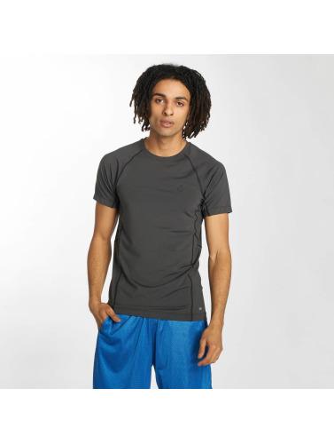 K1X Core Hombres Camiseta Compression in gris