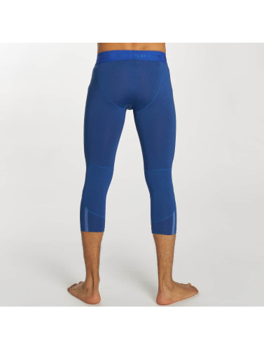 K1X Core Herren Legging 3/4 Compression in blau