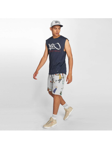 K1X Core Hombres Tank Tops Tag Basketball in azul