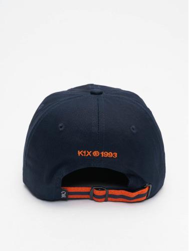 K1X Snapback Cap Play Hard Basketball Sports in blau