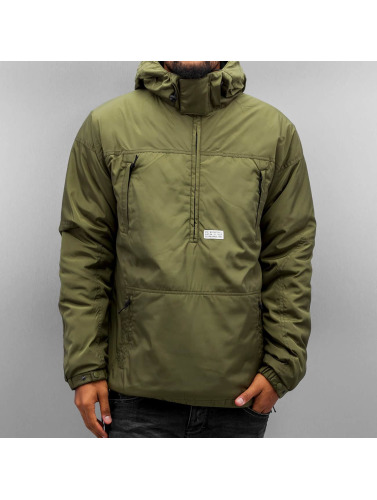 K1X Herren Übergangsjacke Urban Hooded in olive