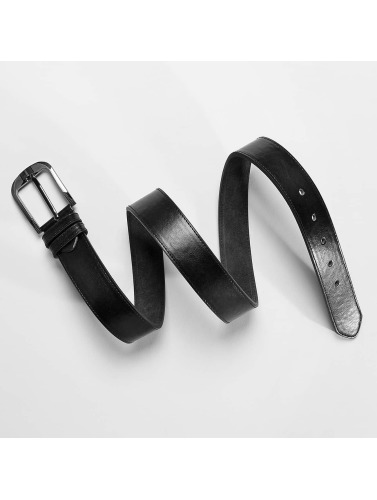 Kaiser Jewelry Gürtel Leather in schwarz