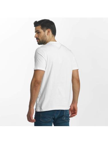Kaporal Hombres Camiseta Hoprae in blanco
