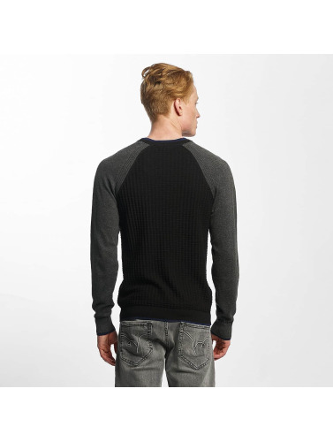 Kaporal Herren Pullover Happy Days in schwarz