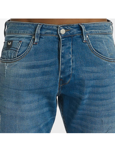 Kaporal Herren Straight Fit Jeans Bastian in blau