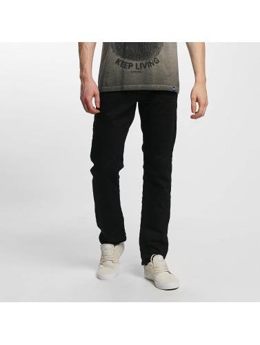 Kaporal Herren Straight Fit Jeans Broz in schwarz