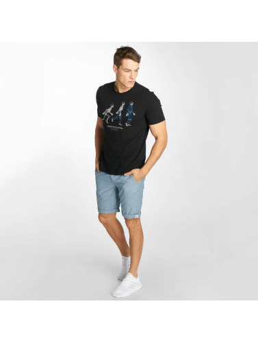 Kaporal Herren T-Shirt Knitted in schwarz