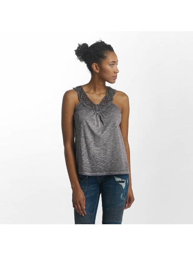 Kaporal Damen Tank Tops Knitted in grau