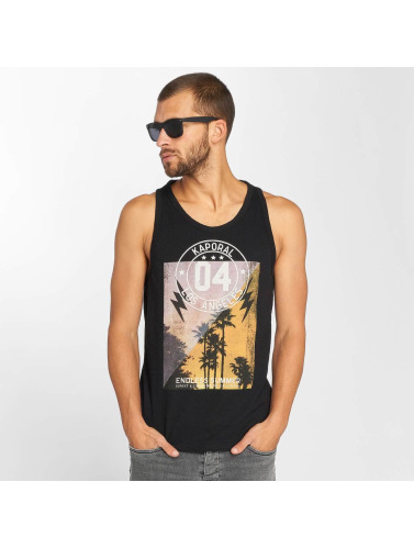 Kaporal Hombres Tank Tops Knitted in negro
