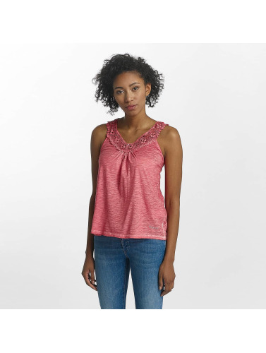 Kaporal Damen Tank Tops Knitted in rot