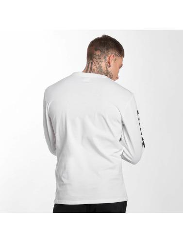 Kappa Hombres Camiseta de manga larga Ruiz in blanco