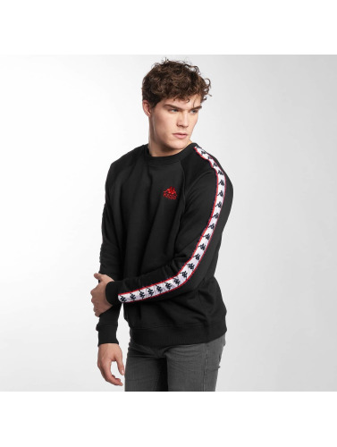 Kappa Hombres Jersey Carl in negro