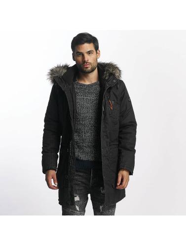 Khujo Hombres Chaqueta de invierno Lior in gris