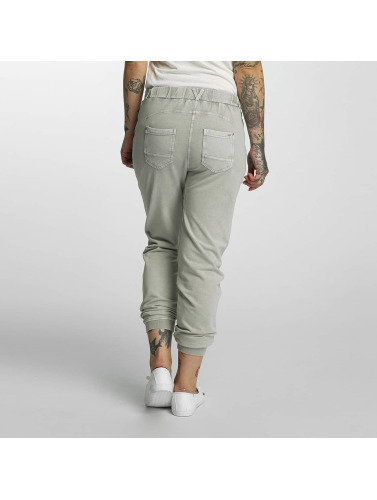 Khujo Damen Chino Rafaela in grau