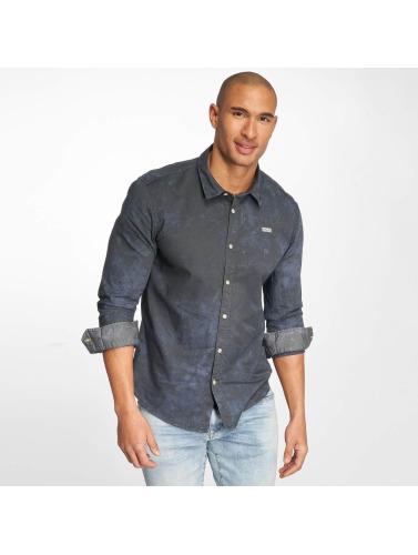 Khujo Herren Hemd Shagg in blau