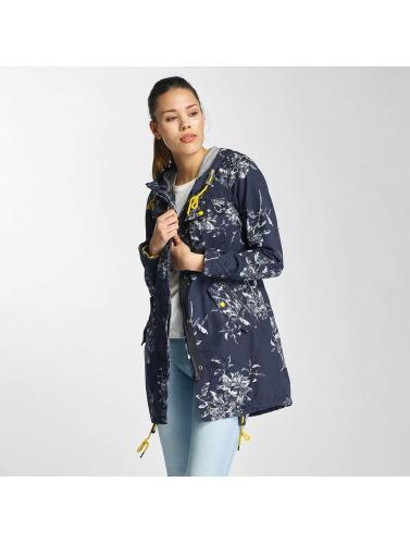 Khujo Damen Mantel Kaatje in blau