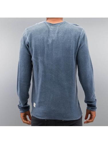 Khujo Herren Pullover Pamban in blau
