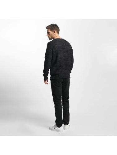Khujo Herren Pullover Percy Knit in schwarz