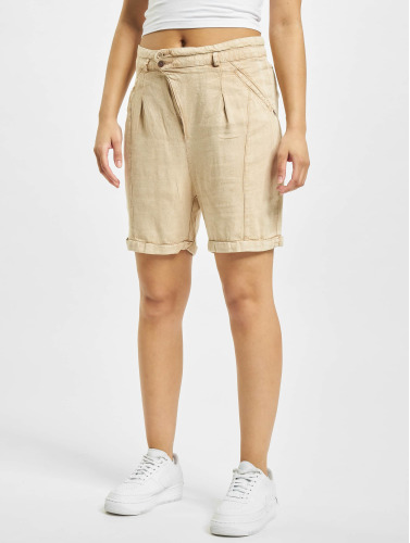 Khujo Damen Shorts Mackay in beige