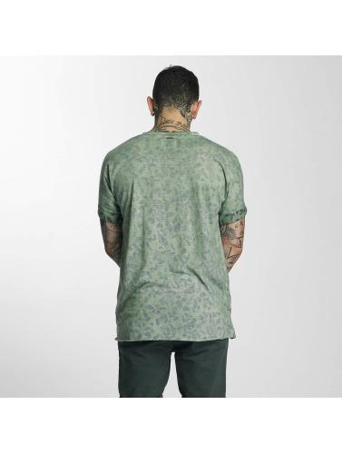 Khujo Herren T-Shirt Usher in grün
