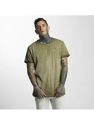 Khujo Herren T-Shirt Test in olive