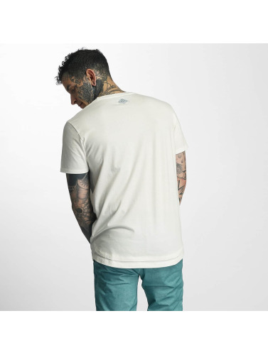 Khujo Herren T-Shirt Tazewell in weiß