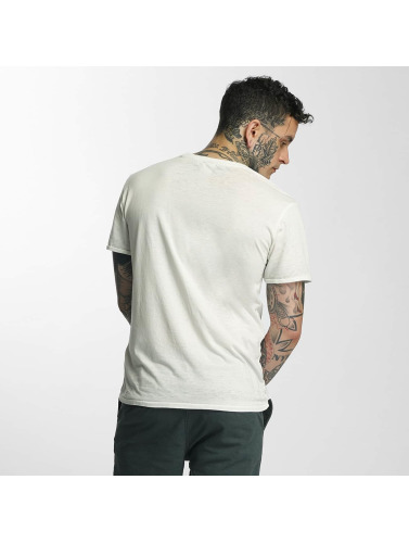 Khujo Herren T-Shirt Tricko in weiß