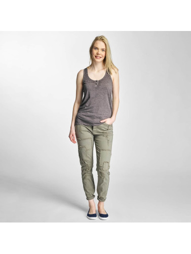 Khujo Damen Tank Tops Elina in grau