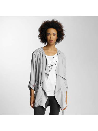 Khujo Ladies Transition Jacket In Gray Moibeal