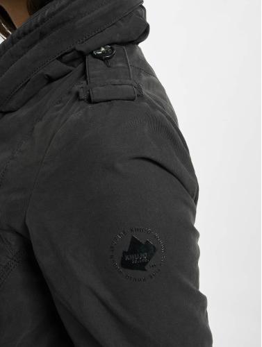 Khujo Damen Übergangsjacke Cass in schwarz