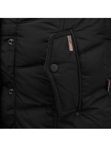 Khujo Ladies Winter Jacket In Black Winsen