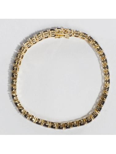 KING ICE Armband Gold_Plated 5mm Single Row CZ Pharaoh in goldfarben Rabatt Sammlungen oZIBXImBFL