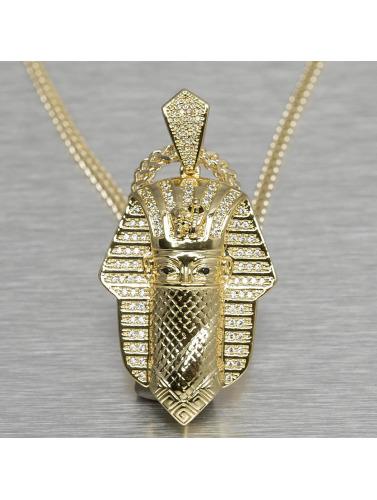 KING ICE Kette Bandana Pharaoh in goldfarben
