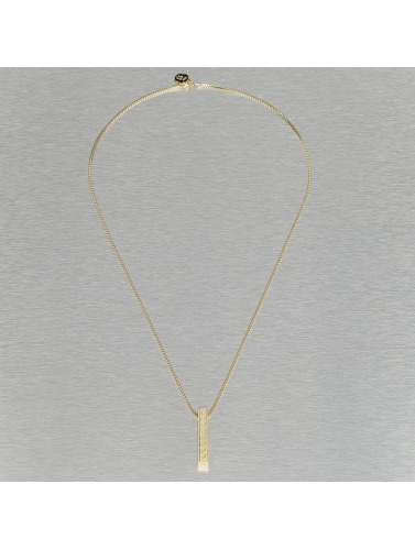 Billig Online-Shop Manchester KING ICE Kette Greek Key Pillar in goldfarben Günstig Kaufen Professionelle Günstig Kaufen Fabrikverkauf 9uvlyvm