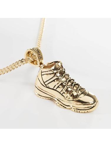 KING ICE Kette Gold_Plated High Top in goldfarben
