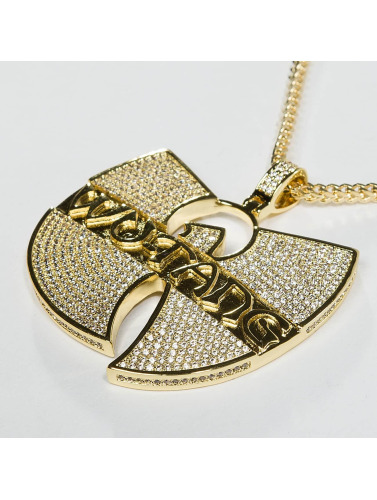 KING ICE Kette WU-TANG CLAN Gold_Plated CZ The Forever in goldfarben