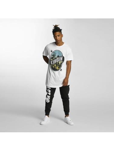 Kingin Herren T-Shirt LA Streets in weiß