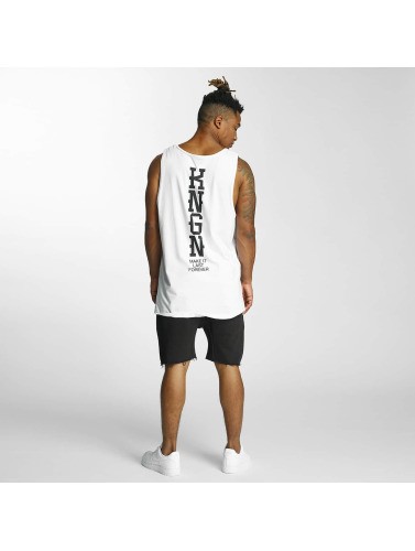 Kingin Herren Tank Tops Ra in weiß