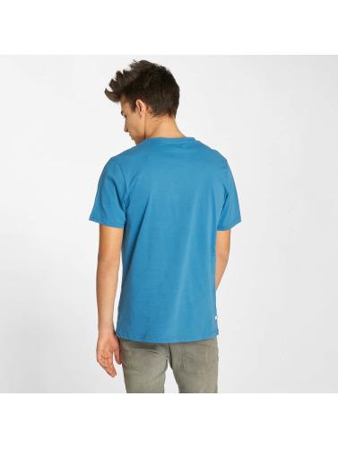 Kulte Hombres Camiseta Corpo College in azul