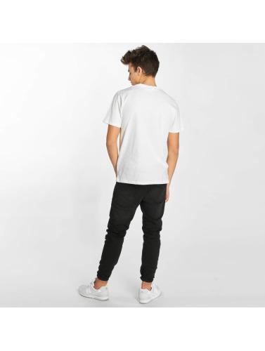 Kulte Hombres Camiseta Hike in blanco