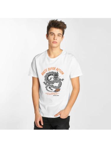 Kulte Hombres Camiseta Docteur Justice in blanco